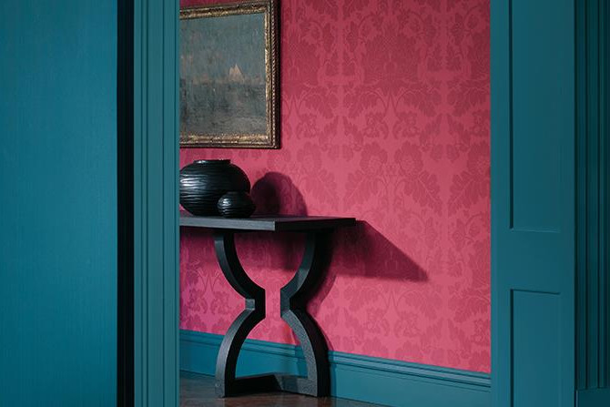 Collezione Damask _ The Alchemy of Color