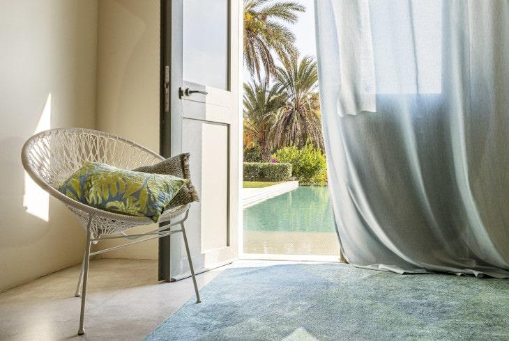 Taddei tessuti e tendaggi tessuti per tende e divani - Tende elettriche da interno ...